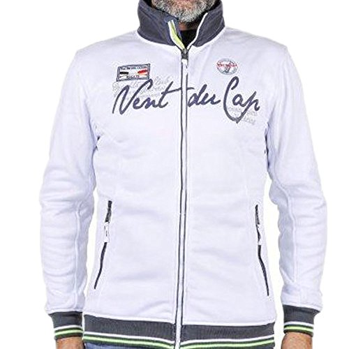 Vent du cap-giacca-sudore uomo CELO bianco
