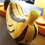 Qiangzi Kissen Kreativ-Persönlichkeit-Simulation Bananenkissen-Karikatur-Kissen Ragdoll Kissen Das Büro-Mittagessen-Bruch Abnehmbares Geburtstags-Geschenk Kinder Spielzeug ( größe : 90cm )