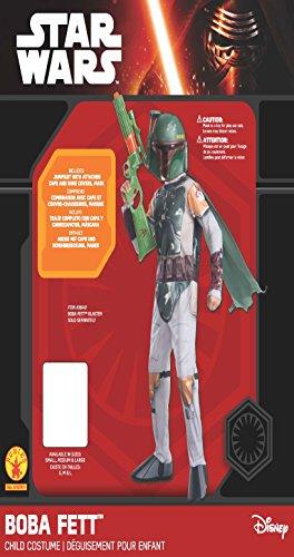 Imagen de disfraz de oficial de disney star wars boba fett de rubie's, para niño, tamaño mediano alternativa