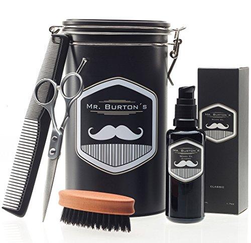 Hochwertiges Bartpflege Set