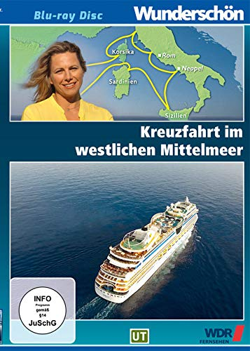 Kreuzfahrt im westlichen Mittelmeer - Wunderschön! [Blu-ray]