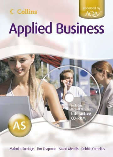 Collins Applied Business - AS for AQA Student's Book by Surridge, Malcolm (2005) Paperback