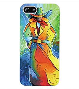 ColourCraft Painting Back Case Cover for APPLE IPHONE 5S