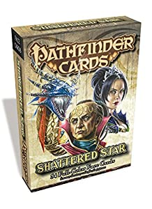 Pathfinder Face Cards: Shattered Star Adventure Path