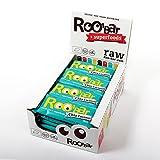 ROO'BAR Chia & Kokosnuss - 20 Stück (20x 30g) - Rohkost-Riegel mit Superfoods (bio, vegan, glutenfrei, roh)