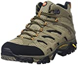 Merrell Moab Mid Gore-Tex , Men's Lace-Up High Rise Hiking Shoes - Walnut, 11.5 UK