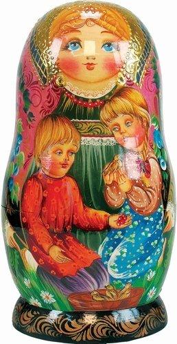 Doll Ornament Nesting (G. DeBrekht Little Chick verschachtelt Puppe, 15,2cm)