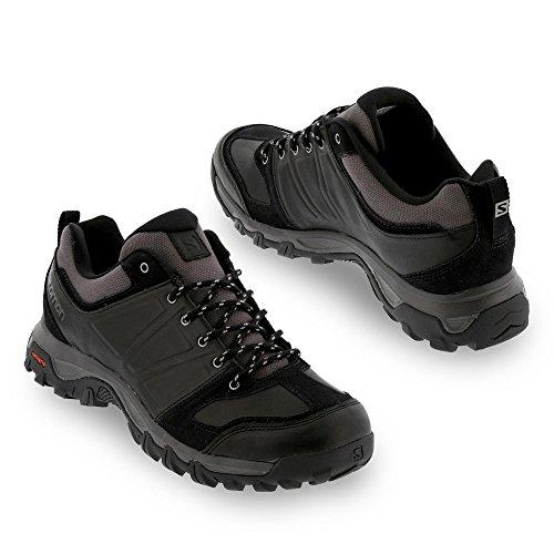 Salomon Evasion Travel Walking Shoes Black Black Autobahn