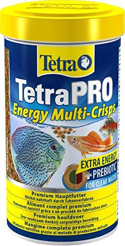 Tetra Pro Energy Premiumfutter (für alle tropischen Zierfische, mit Energiekonzentrat für extra Wohlbefinden, Vitaminstabilität und hoher Nährwert), 500 ml Dose