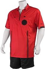 Kwik Goal Official Referee Jersey, Red, Medium