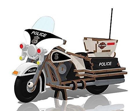 Kids Preferred Buildex Plush Toy, Harley Police Cruiser