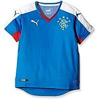PUMA Rangers Home Replica Camiseta de fútbol para Hombre Azul Puma Royal, White Talla: