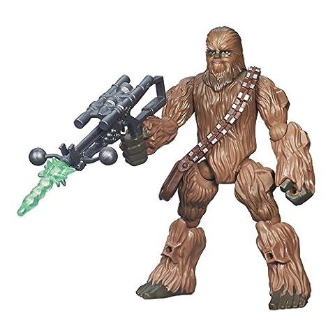 Star Wars Hero Mashers Episode VI Chewbacca-Puppe–Mehrfarbig (1 Anakin Skywalker Action-figur)