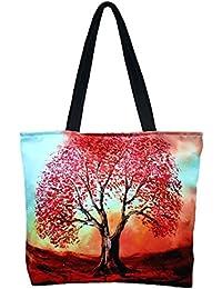 Vj's Ladies Hand Bag With Multi Color (12 Inch * 10 Inch) - B079HWJT3V