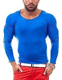 BOLF Longsleeve T-Shirt Langarm Shirt Sweatshirt Pullover Pulli STEGOL 546