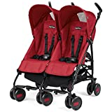 Peg Perego Passeggino Pliko Mini Twin, Geo Red