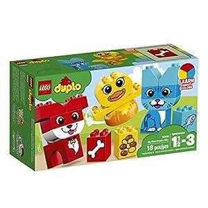 animales y mascotas: LEGO DUPLO - Primer puzle de Mascotas (10858)