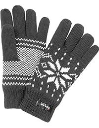 Strick Fingerhandschuhe mit Thinsulatefütterung Winterhandschuhe