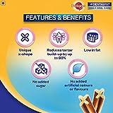 Pedigree DentaStix Hundesnack für mittelgroße Hunde (10-25kg), Zahnpflege-Snack mit Huhn und Rind, 10 Packungen je 7 Stück (10 x 180 g) - 5