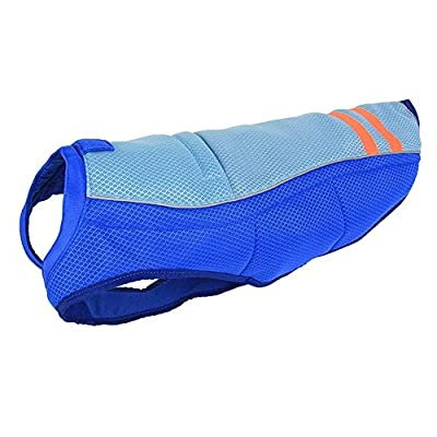 HomeYoo Dog Cooling Vest, Breathable Cooling Coat Outdoor Anti-heat Summer Jacket Clothes for Medium and Large Pet Dogs by HomeYoo