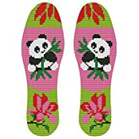 Handgestickt-Einlegesohlen im chinesischen Stil schweißabsorbierende Einlegesohlen, Panda preisvergleich bei billige-tabletten.eu