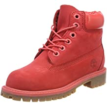botte timberland rouge