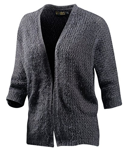 Neighborhood Damen Strickjacke grau 36