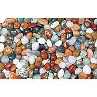 Edelsteine, Trommelsteine poliert, bunte Mischung, Größe 1 - 1,5 cm, 500g-Beutel preisvergleich bei billige-tabletten.eu