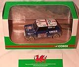corgi mini cooper classic neil burgess world rally championship 2004 limited edition 1.36 scale diecast model