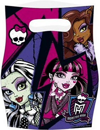 Amscan Monster High 2Party Taschen (Monster High Geburtstag Party Favors)