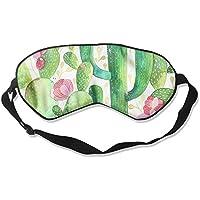 Sleep Eyes Masks Watercolor Cactus Pattern Sleeping Mask For Travelling, Night Noon Nap, Mediation Or Yoga preisvergleich bei billige-tabletten.eu