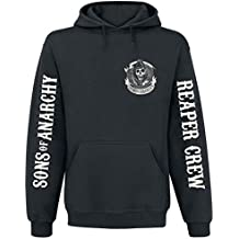 Sons Of Anarchy American Outlaw Sudadera con capucha Negro
