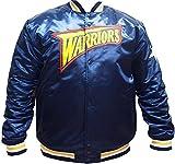 Mitchell & Ness Herren College Jacke HWC Team Golden State Warriors blau 2XL