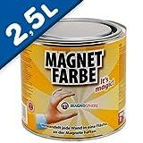 Vernice magnetica 2,5 litro - rivestire con qualsiasi colore o disegno