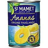 SAINT MAMET Ananas Origine 10 Tranches - Lot de 4
