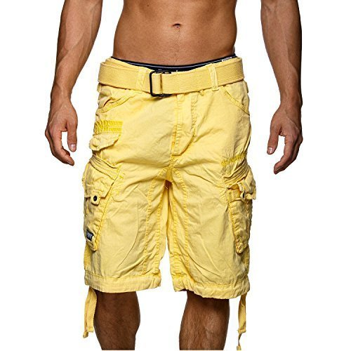 Pantalón corto amarillos hombre