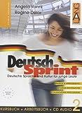 Deutsch Sprint. Kursbuch-Arbeitsbuch. Per il biennio delle Scuole superiori. Con CD Audio: 2