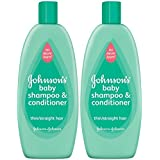 Johnson's No More Tangles Shampoo & Conditioner - Straight Hair - 18 oz - 2 pk
