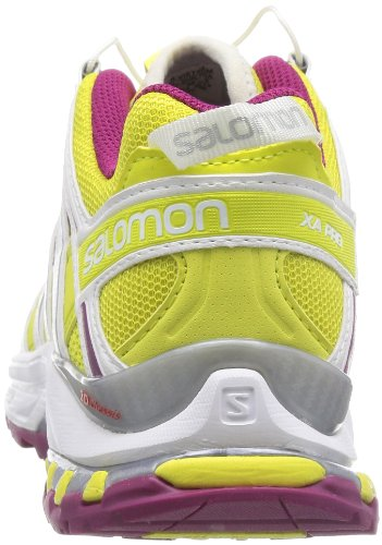 Salomon  XA PRO 3D, Chaussures de Trail femme Jaune - light hay yellow/white/mystic purple
