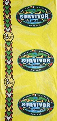 Survivor Amazon Jabaru YELLOW Tribe Buff - as seen on TV Show by Survivor (Tv-show Survivor)