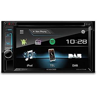Kenwood DPX7000DAB Doppel-DIN-Receiver mit Apple iPod-Steuerung, Bluetooth-Freisprecheinrichtung und DAB+ schwarz JVCKENWOOD DEUTSCHLAND GMBH DPX-7000DAB