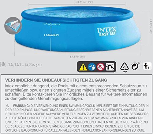Schwimmbecken – Intex – 1 - 4