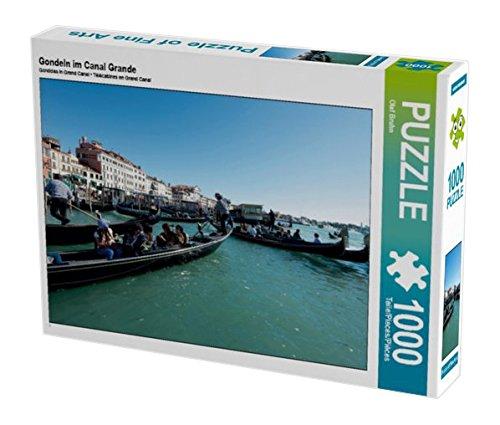 Preisvergleich Produktbild Gondeln im Canal Grande 1000 Teile Puzzle quer (CALVENDO Orte)