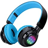 Bluetooth Headset, Riwbox AB005 Wireless Headphones 4.0 with Microphone Foldable Headphones with TF