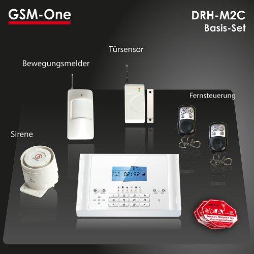 GSM Funk Alarmanlage DRH-M2C