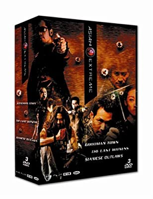 Coffret asian extrême : the last witness ; goodman town ; siamese outlaws [FR Import]