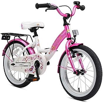 BIKESTAR Bicicleta infantil   Bici para niños y niñas 16 pulgadas ...