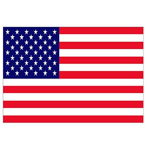Supportershop Drapeau USA Etats-Unis polyester avec 2 œillets metalliques - 150 x 90 cm Supportershop