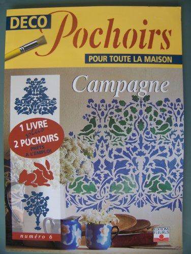Campagne : déco pochoirs