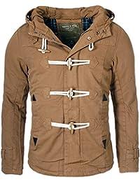 Young & Rich - Blouson - Duffle coat - Uni - Manches Longues - Homme